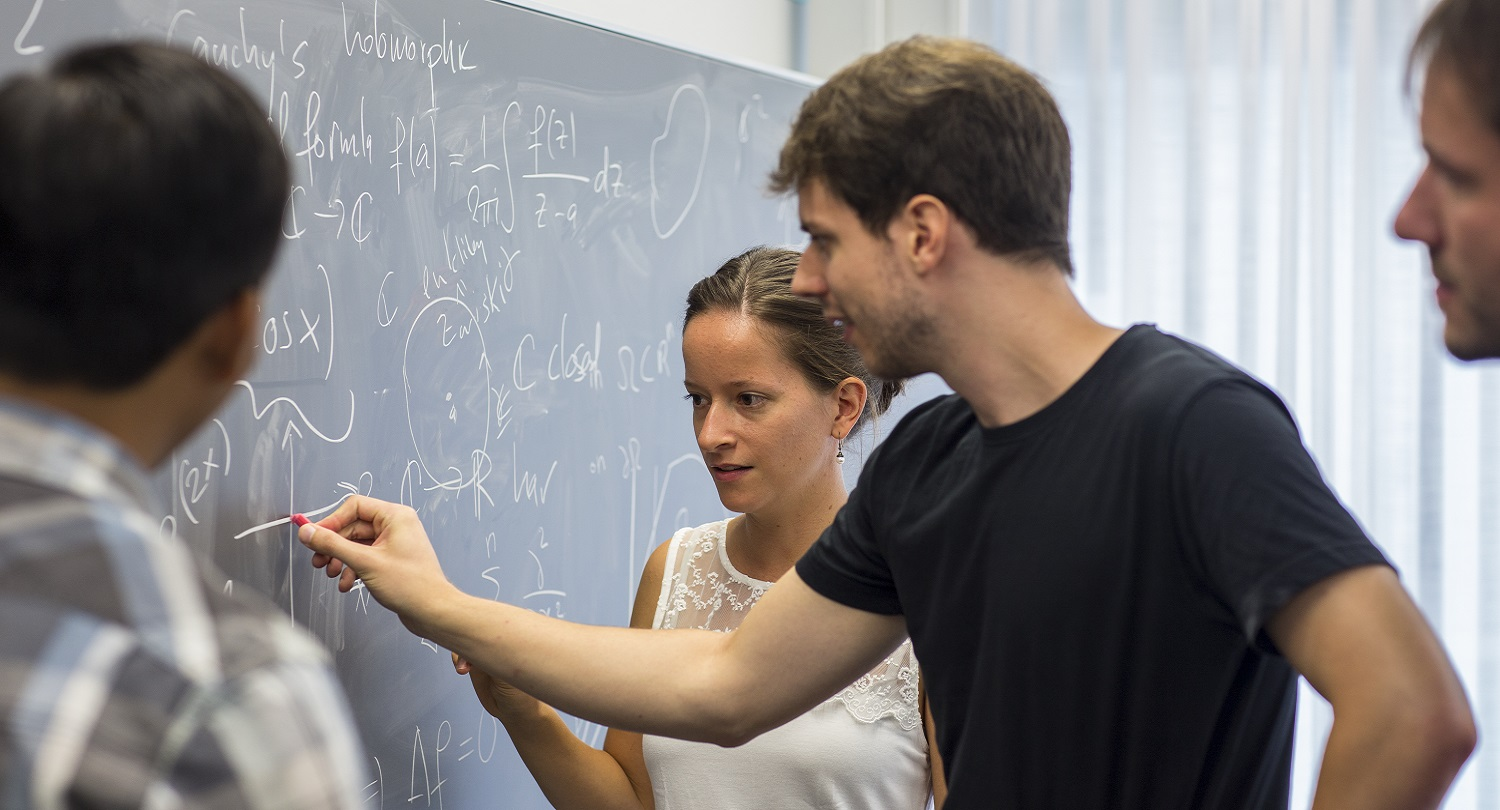Doctoral students in mathematics